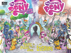IDW comics issue 18-19 combined