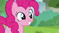Pinkie Pie smiling wide S6E3