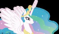 Princess celestia s amused smile by dharthez-d5ir7u9