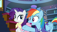 "Rainbow Dash ""for, like, a super long time"" S8E17"