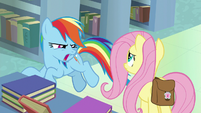 "Rainbow Dash ""who does that?!"" S9E21"