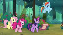 Rainbow Dash -learning pretending to be fun- S8E13
