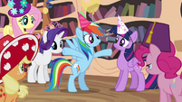 Rainbow Dash excited -whatever- S4E04