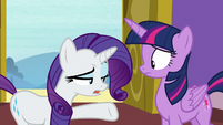 "Rarity ""I suppose it's possible"" S9E19"