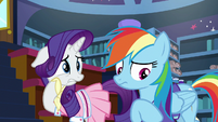 Rarity and Rainbow think of more reasons S8E17