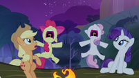 Rarity enjoying fright S3E6