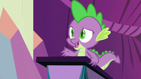 "Spike ""each day was super draining"" S8E7"