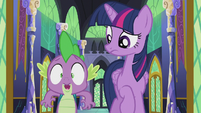 """Spike """"or it's totally true!"""" S5E25"""