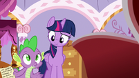 Spike --how in Equestria did you get back--- S6E22