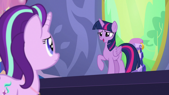 """File:Twilight Sparkle """"a second reason to celebrate"""" S7E1.png"""