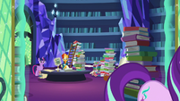 Twilight and Sunburst watch Starlight leave S7E26