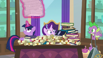 Twilight giving Starlight Spell-venger Hunt rules S8E15