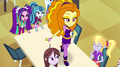 Adagio Dazzle walking on cafeteria table EG2.png
