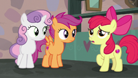 "Apple Bloom ""never would've gone through with"" S7E8"