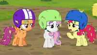"""Apple Bloom """"we were supposed to design them!"""" S6E14"""