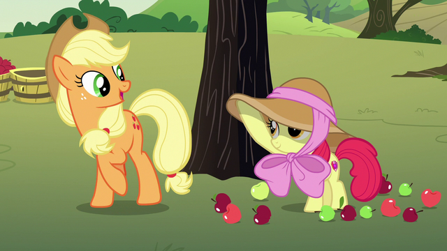"""File:Applejack """"you're the exception in our family"""" S7E9.png"""