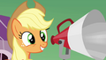 Applejack 'And there's lots more to come after that!' S3E08.png