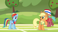 Applejack --where did Pinkie Pie learn to buck like that--- S6E18