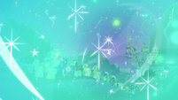 Canterlot engulfed in pulse of magic S8E26
