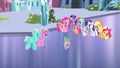 Crystal Ponies approaching Spike S4E24.png