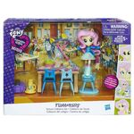 Equestria Girls Minis Fluttershy School Cafeteria Set packaging