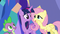 """Fluttershy """"some stuffed animals in your bedroom"""" S5E3.png"""