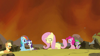 Fluttershy freed S4E26