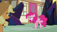 "Pinkie Pie ""black licorice fruitcake"" S9E2"