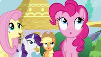 Pinkie Pie surprised S4E1
