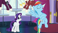 """Rainbow """"and eat awesome food at the dinner tonight"""" S5E15.png"""