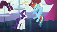 """Rainbow """"kind of exciting"""" S5E15"""