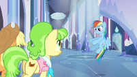 "Rainbow Dash ""and we're walking..."" S03E12"
