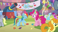 "Rainbow Dash ""guess it was nothing"" S7E23"
