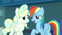Rainbow Dash --you say that like it's not-- S6E24