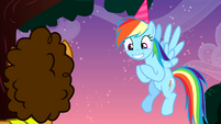 Rainbow Dash -the best birthday anniversary super combo- S4E12