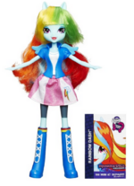 Rainbow Dash Equestria Girls show attire doll