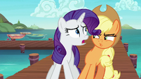 Rarity --what's the emergency--- S6E22