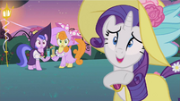 Rarity over there S2E9