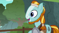 Rockhoof looking very excited S7E16