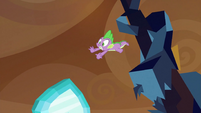 Spike tripping and dropping Crystal Heart S3E2