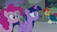 Twilight and friends in varied levels of shock S7E25