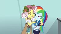 Vignette puts her arm around Rainbow EGROF