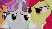 "Apple Bloom ""to get on our good side"" S4E15"