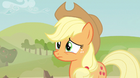 Applejack tear eyed S3E8