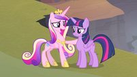 Cadance 'to have somepony like you as a friend' S4E11