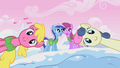 Cherry Berry, Sweetie Drops, Minuette and Berryshine sing S1E11.png