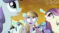 Crystal ponies watch Cadance's shield fail S3E02.png