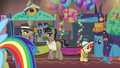Dr. Caballeron at the Daring Do convention S6E13.png