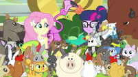 Fluttershy has even more animals EG3b