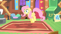 Fluttershy shocked by the CMC's behavior S1E17.png